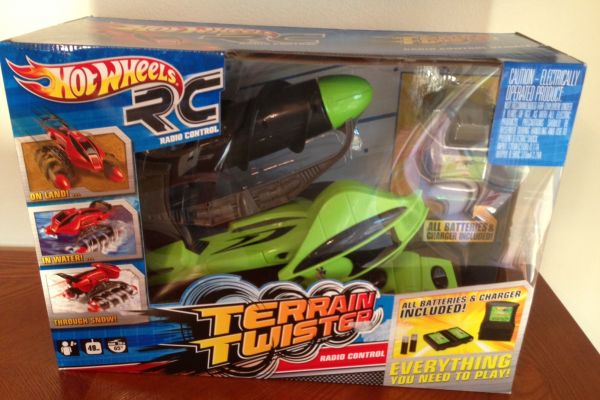 Hot Wheels Radio Control Terrain TwisterNew In Box - $70 (Waco)