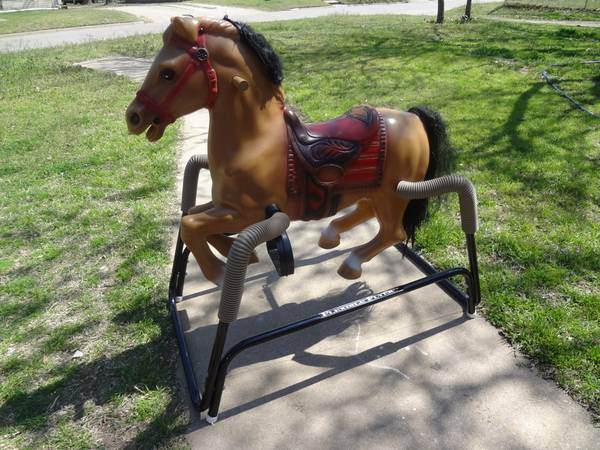 Flexible Flyer Rocking Horse with Sounds - $30 (waco)