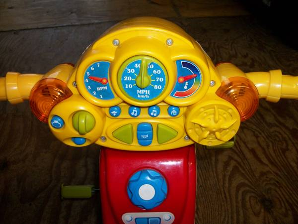 Fisher Price Ni Hao, Kai-Lan Lights Sounds Trike - $20 (Hewitt)