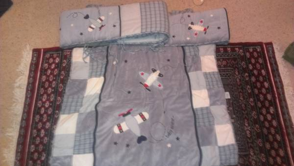 Baby Aviator Bedding - $90 (China Spring)