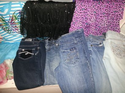 Justice, Gap, Tcp and more name brand jeans and girls clothes (woodway)