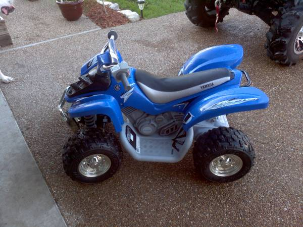 Yamaha Raptor Power Wheels 4wheeler - $100 (Robinson,TX)