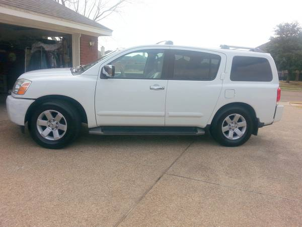 2004 Nissan Armada LE wall options - x00248750