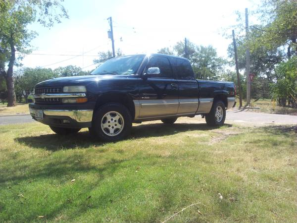 reduced chevy z-71 ls1 swap clean fast truck sale or trade - $5500 (gatesville)