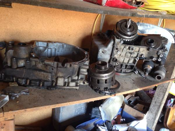 2002 Mazda 626 2.0 transmission parts (auto) - x00241 (Waco, Texas)
