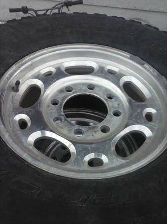 CHEVY HD RIMS AND TIRES - $175 (WACO)