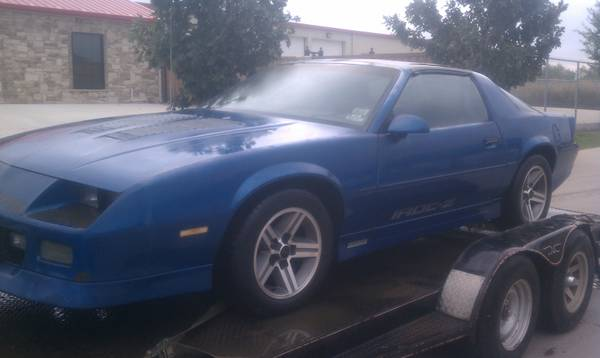 Rare Find86 Chevy Camaro Iroc Z Z28 - $3500 (Terrell Tx 75161 1 hour east of dallas)