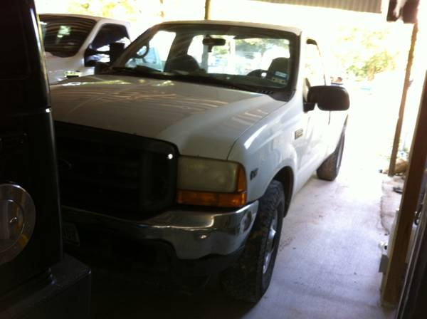 Ford f250 for sale Amazing working truck for a good price - $2500 (Waco tx)