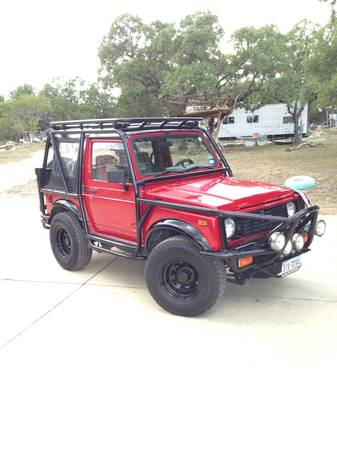 1991 Suzuki Samurai - $13000 (Canyon Lake, Texas)