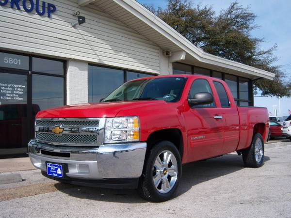 2012 CHEVY SILVERADO EXT CAB LT TRIM 20 INCH WHEELS WARRANTY - $22955 (MARK HOLCOMB GROUP PRE-OWNED CENTER)