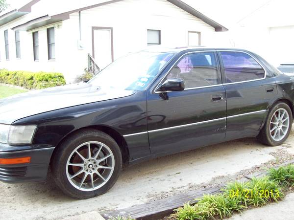 1994 Lexus LS400 - 4.0L, NEW Parts, Needs Some Work, Clear Title - OBO - $1000 (China Spring)