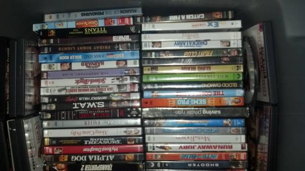 Tub of 200 GREAT movies - $150 (gatesville)