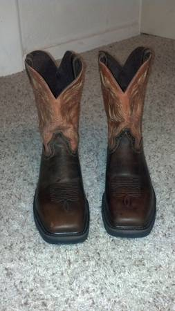 New Justin Steel Toe Work Boots 11.5D - $80 (Waco, TX)