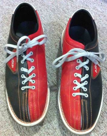 AMF Professional Bowling Shoes .. Size 12 to 13 12 - x002420 (Woodway McGregor)