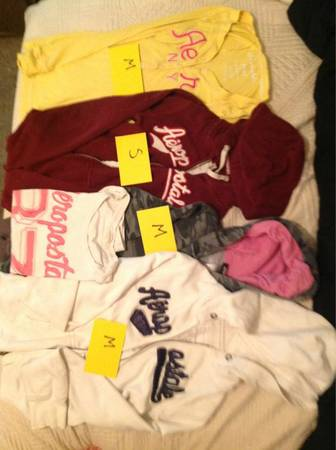Lot 6 aero hoodies - $40 (Text only (254) 498-7582 refer to lot 6 plz)