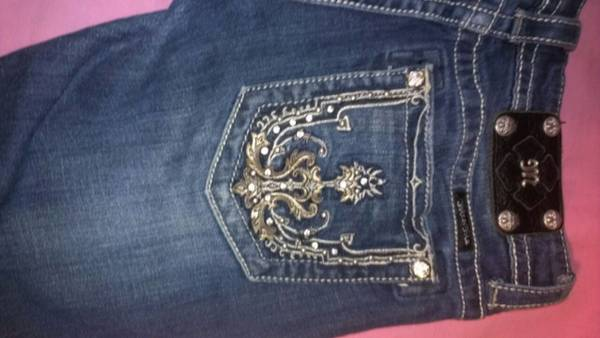 Miss Me Jeans size 27 - $45 (Robinson)