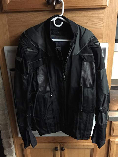 130  Buell motorcycle jacket