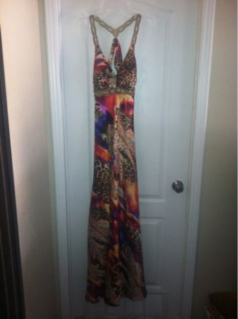 Evening Gown, Prom dress or Cocktail dress.....Blondie Nites by Stacy Sklar size - $95 (Axtell tx)