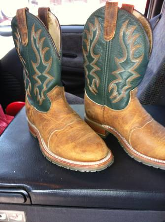 LADIES DOUBLE H ROPER BOOTS - 8M - $80 (HEWITT)