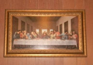 Large Print Painting of  The Last Supper  Lord Jesus -   x0024 65  Waco