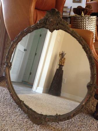 Antique mirror - $250 (CrawfordChina Spring)