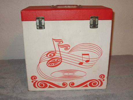 VINTAGE VINYL ALBUM CARRYING CASE -   x0024 25  WACO  BELLMEAD