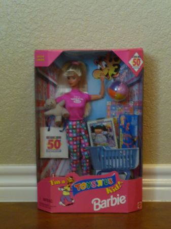1997 Im A ToysRus Kid Barbie - $15 (Crawford)