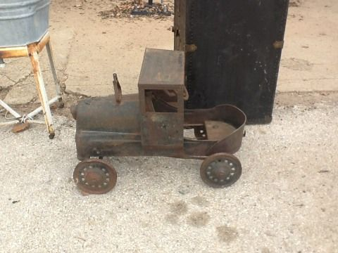 Old Pedal Car Train - $200 (Gause Texas)