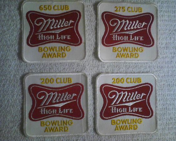 Bowling Cloth Patches Set of 38 - $11 (Waco)