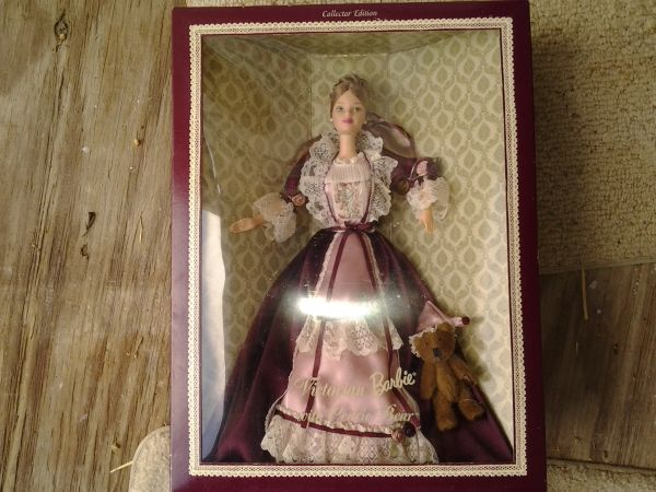 Victorian Barbie with Cedric Bear - $20 (waco)