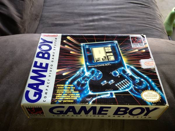 Original 1989 Game Boy (Box Only) - $40 (China Spring)