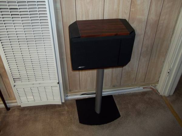 BOSE 301 SPEAKERS PAIR WITH STANDS - $225 (WACO,TX)
