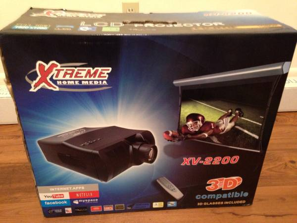 Xtreme home media xv-2200 projector - $1000 (Waco)