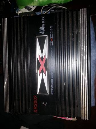 X File Audio 400w 2 Channel 2 OHM Amplifier - $25 (Lacy Lakeview)