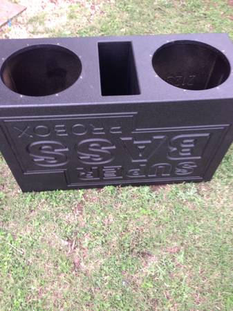 Superbass Probox for sale for 2 12s - $100 (Waco)