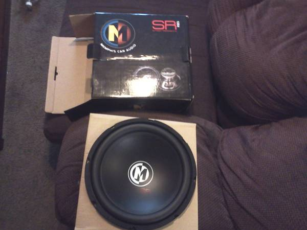 Brand new Memphis 12 sub (still in box) - $80 (waco)