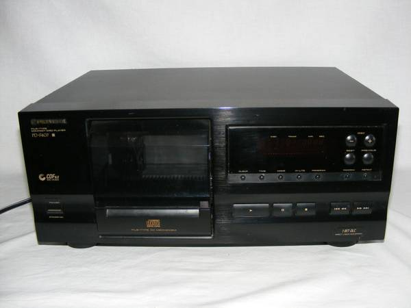 Pioneer PD-F407 25 CD Changer Player Compact Disc File system Black - $50 (china spring)