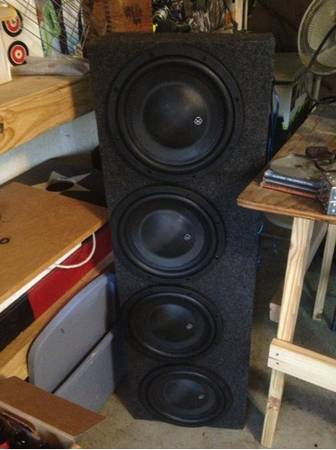 Memphis audio subs and - $800 (Central Texas)