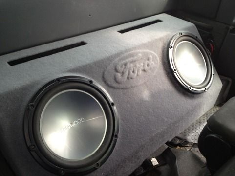 Kenwood Subwoofers in custom ford ported box - $300 (Waco)