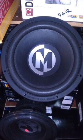 12 subwoofer memphis audio (new) - $200 (waco )