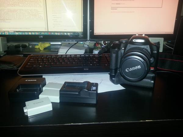 Canon XSi Accessories - $350 (Baylor)