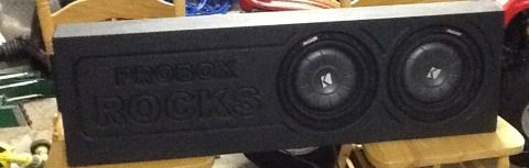 99-2006 Chevy Or Gmc PRO speaker box - $8 (Woodway)