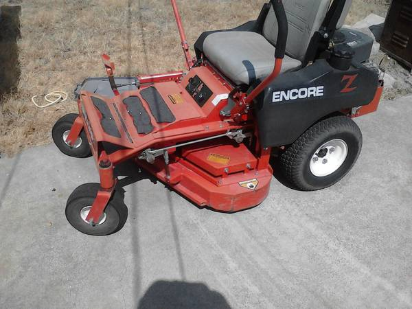 Encore Commercial ZTR Mower Trailer - $2000 (Waco)