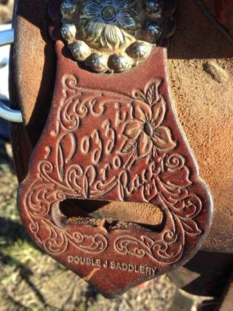 13 12 Double J Pozzi saddle - $1500 (China spring)