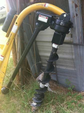 Trator auger - $450 (Waco)