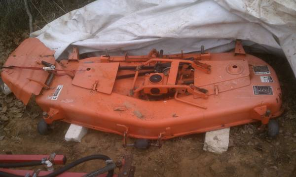 Kubota Belly Mower Decks : Pto mower deck for sale