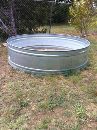 Galvanized Livestock Trough For Sale