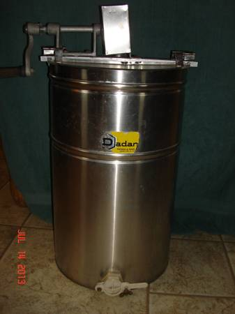 Dadant Honey Extractor - $225 (Moody)