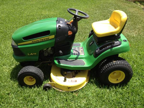 John Deere Riding Mower LA115 - $1000 (Hewitt)