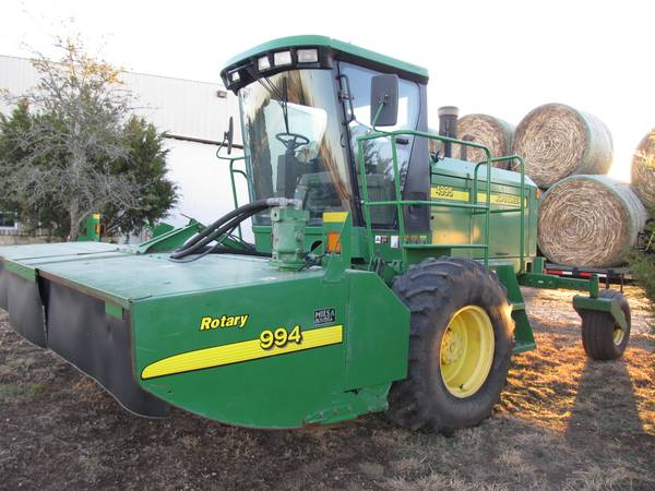 2004 John Deere 4995 Windrower - x002446000 (Crawford)